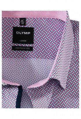 OLYMP Luxor, modern fit, Under button-down, Pink