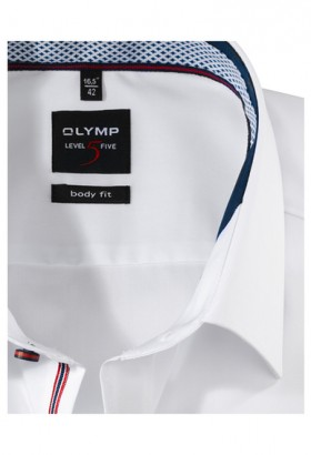 OLYMP Level Five, body fit, New York Kent, White