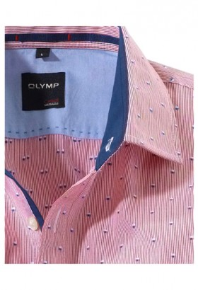 OLYMP Casual, modern fit, Kent, Red