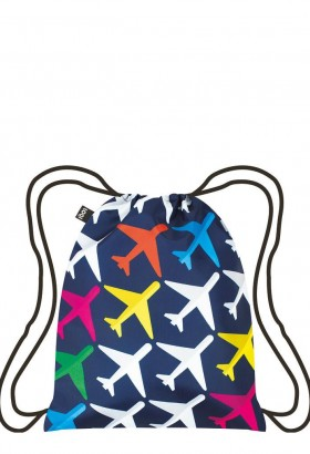 LOQI AIRPORT Airplane Backpack